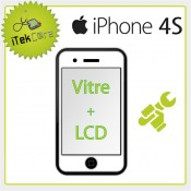 Réparation écran avant iPhone 4S