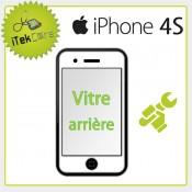 Réparation vitre arrière pour iPhone 4S