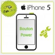 Réparation bouton on/off - power pour iPhone 5
