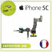 Nappe flex camera avant facetime + capteur de proximité pour iPhone 5C