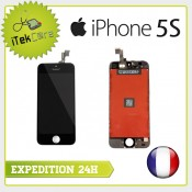 Ecran LCD coloris noir sur chassis pour iPhone 5S