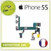 Nappe flex power on/off + volume + vibreur pour iPhone 5S