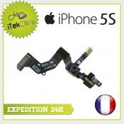 Nappe flex camera avant facetime + capteur de proximité pour iPhone 5S