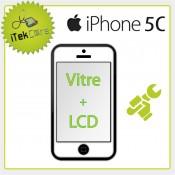 Réparation écran avant iPhone 5C