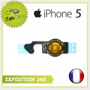 Nappe bouton home pour iPhone 5