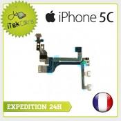 Nappe flex power on/off + volume + vibreur pour iPhone 5C